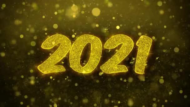 Happy new year 2021 leaf image