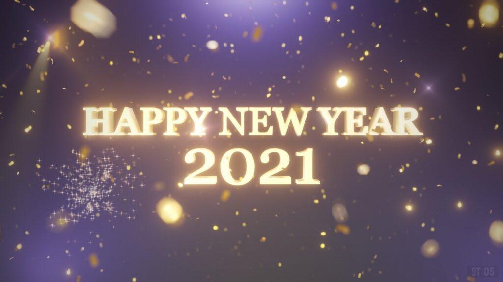 Happy new year 2021 sky image