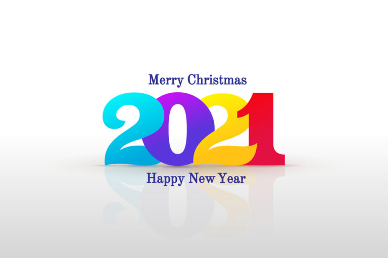 happy new year 2021 christmas image