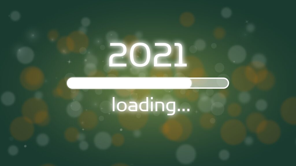Happy new year 2021 loading image